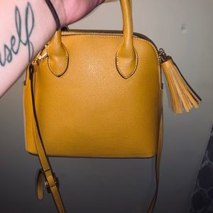 Mustard yellow purse